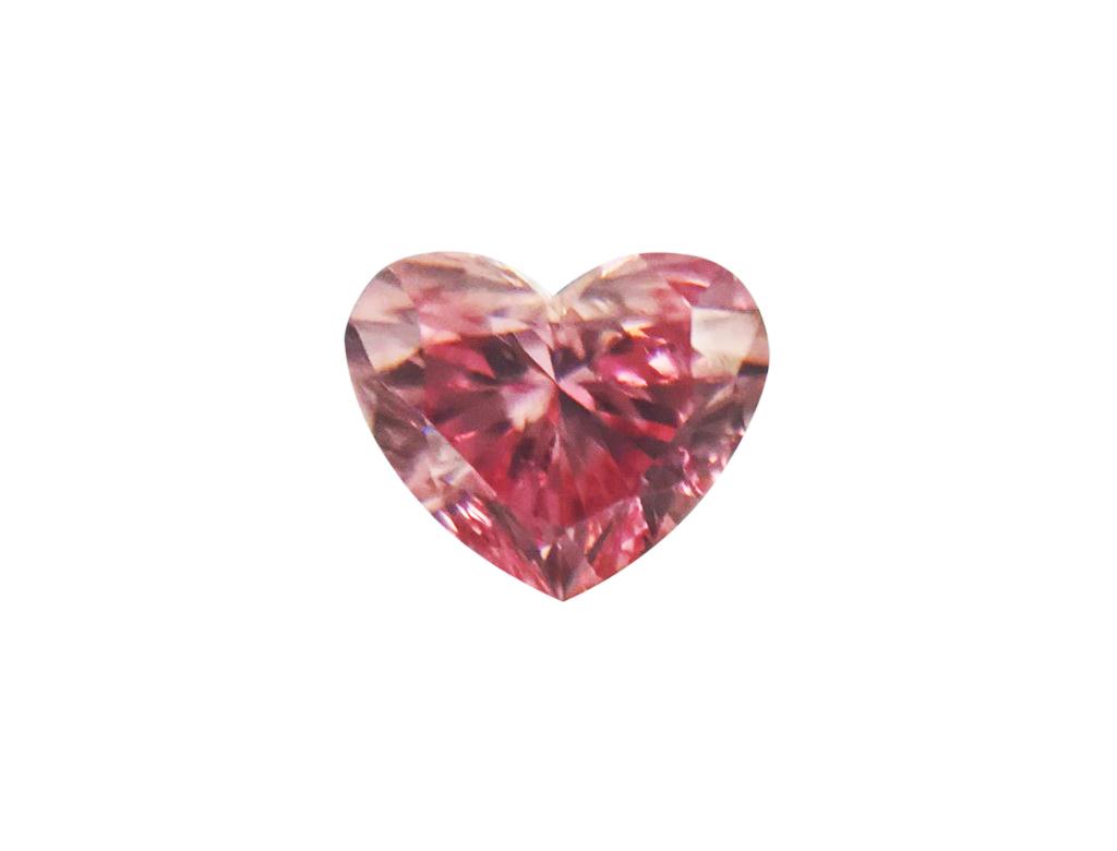 0.15ct粉紅彩鑽石