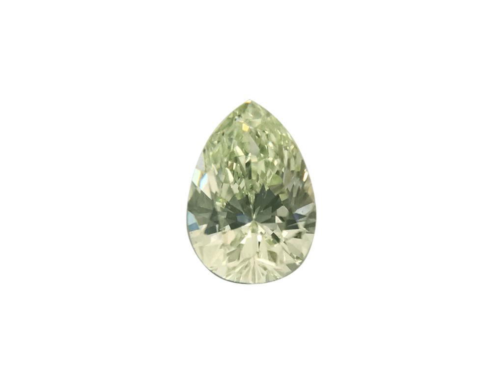 0.15ct綠色彩鑽石