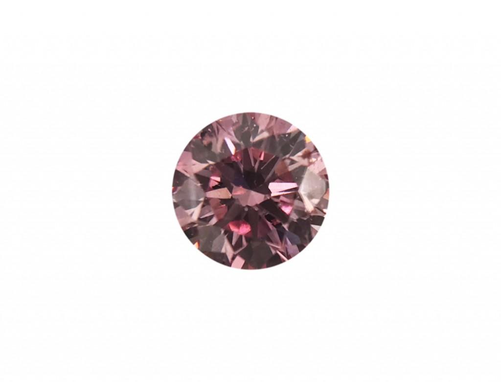 0.15ct粉紅鑽