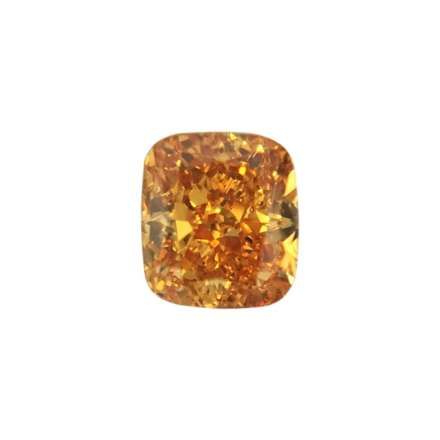 0.16ct橘色彩鑽石