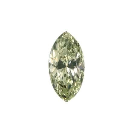 0.34ct綠色彩鑽石