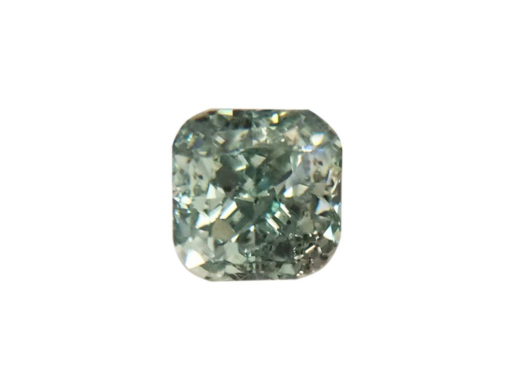 0.17ct綠色彩鑽石