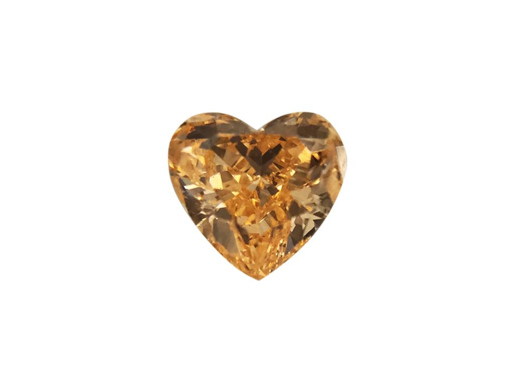0.18ct橘色彩鑽石