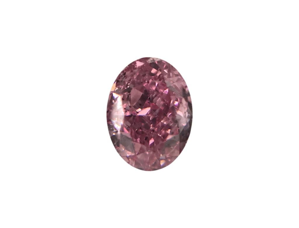 0.19ct粉紅彩鑽石