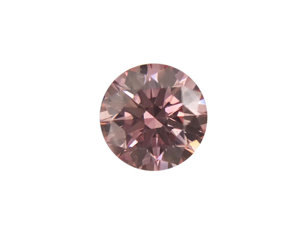 0.20ct粉紅彩鑽石