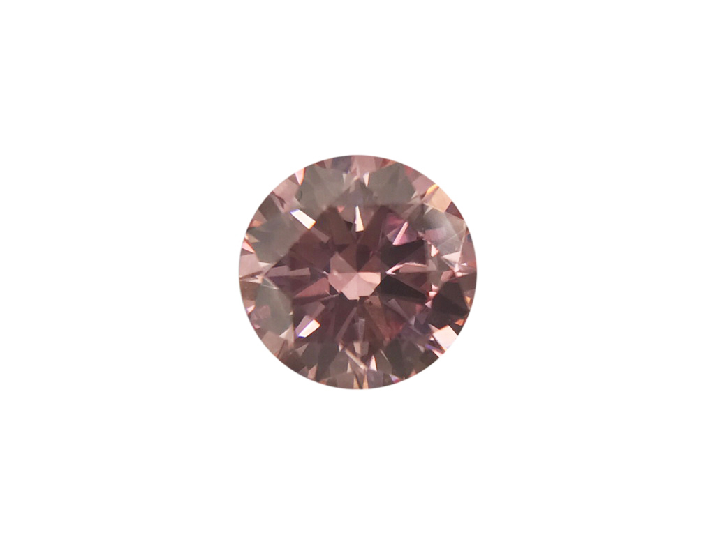 0.21ct 粉紅彩鑽石