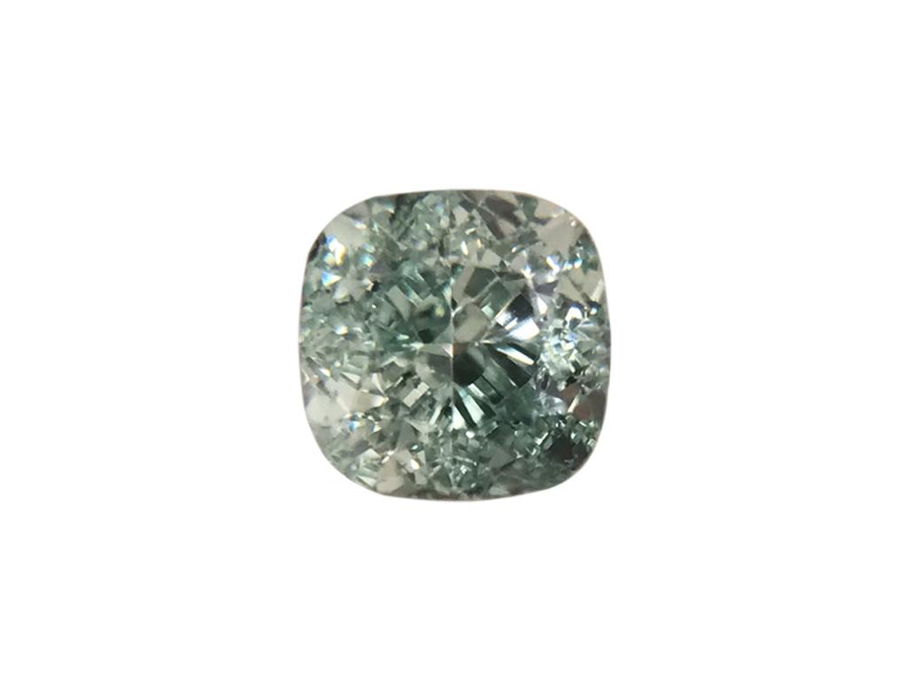 0.22ct綠色彩鑽石