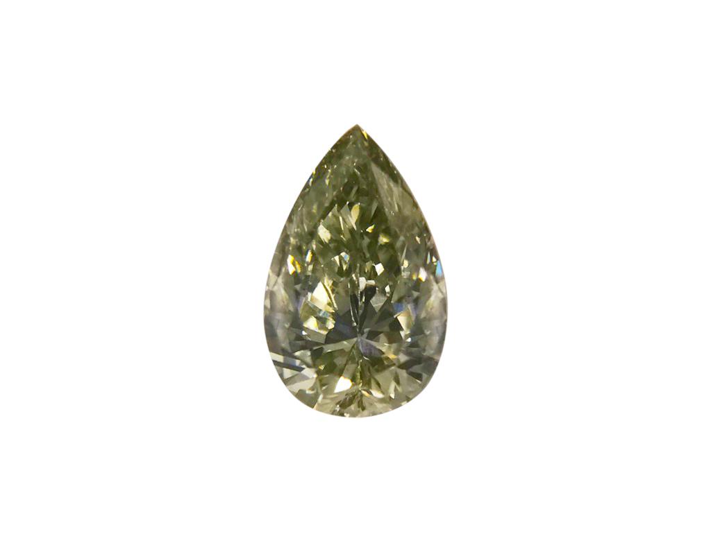 0.23ct綠色彩鑽石
