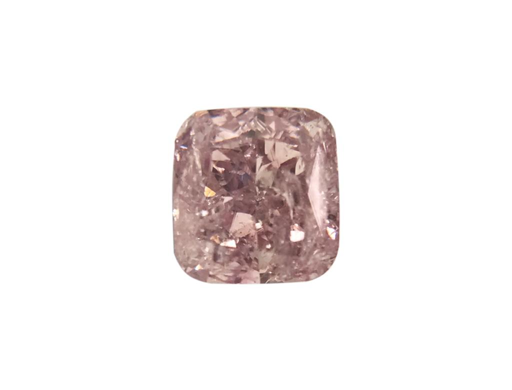 GIA 0.24ct 粉紅彩鑽石