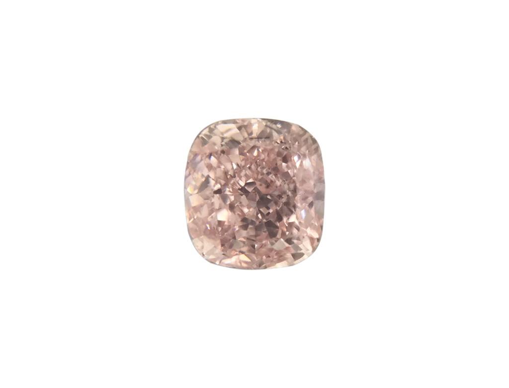 0.25ct橘粉紅彩鑽石