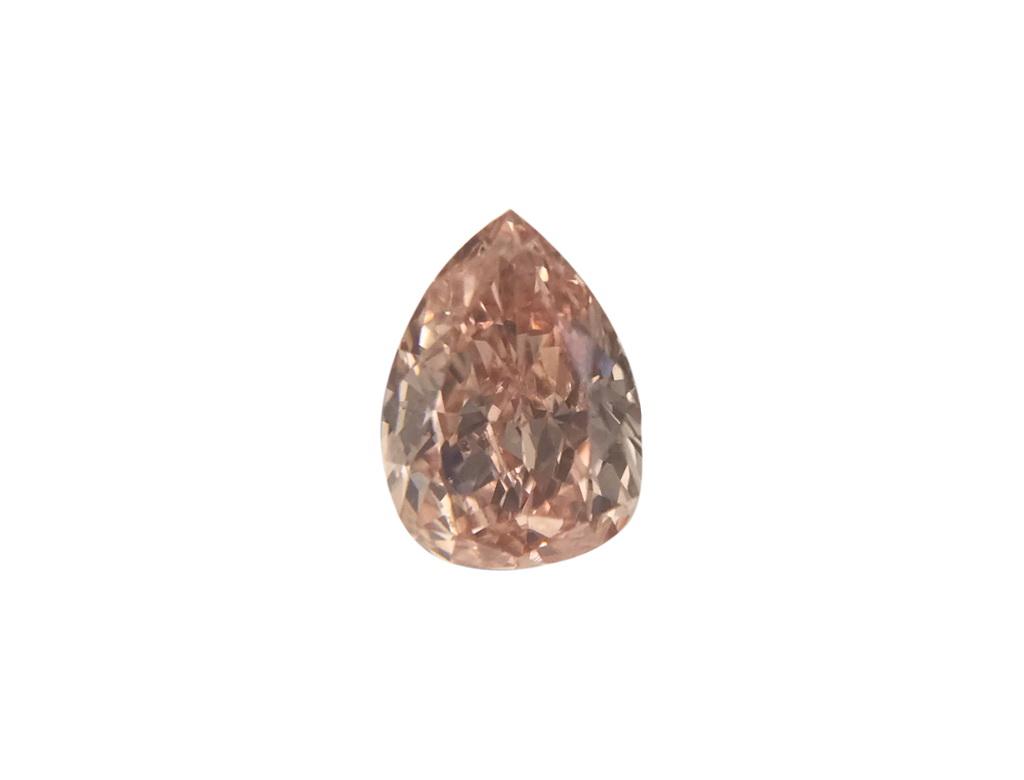 0.26ct粉紅彩鑽石
