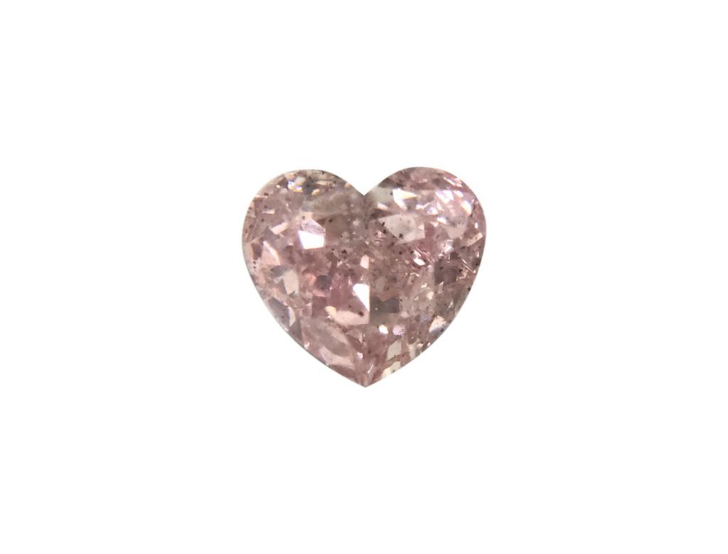 0.27ct粉紅彩鑽