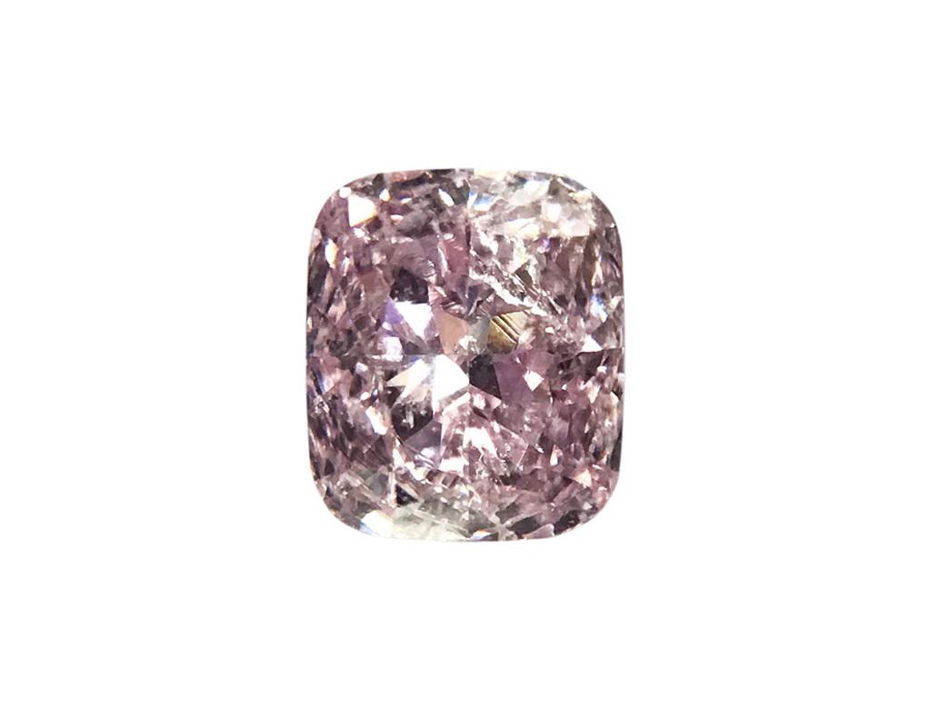 0.27ct粉紅彩鑽石