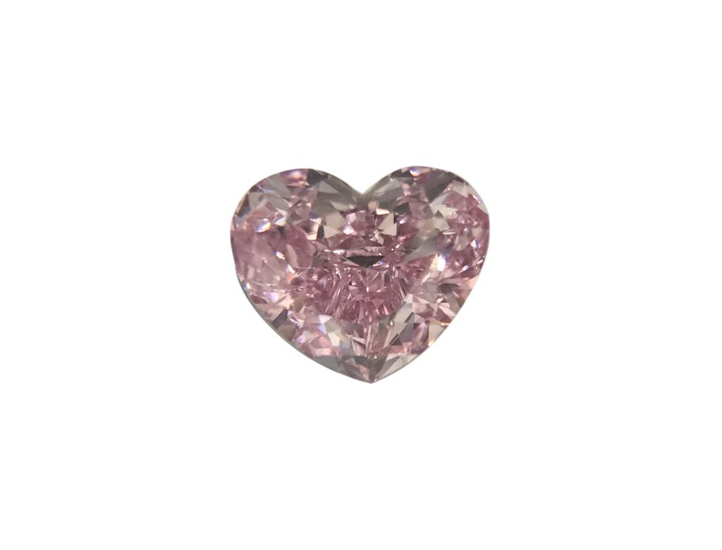 0.28ct紫粉紅彩鑽