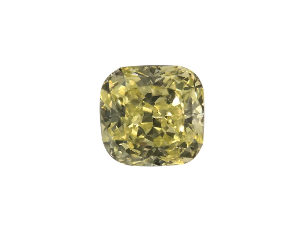 0.29ct黃色彩鑽石