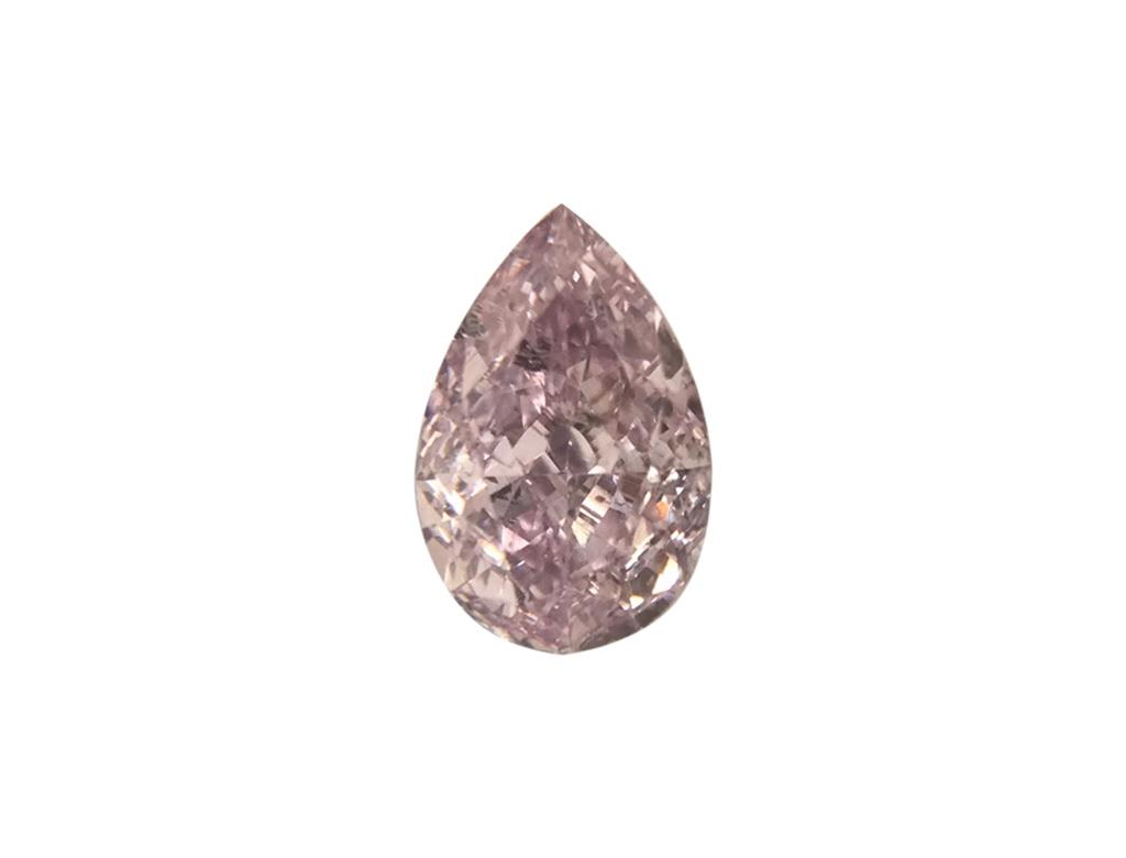 0.29ct粉紅彩鑽石