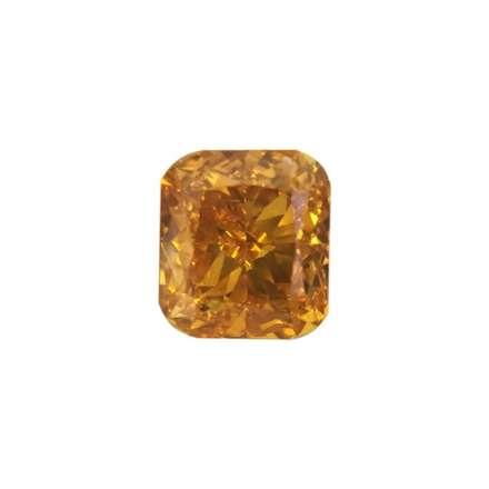 0.29ct橘色彩鑽石