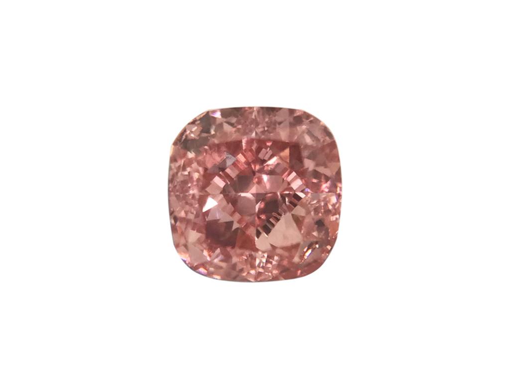 0.30ct粉紅彩鑽石