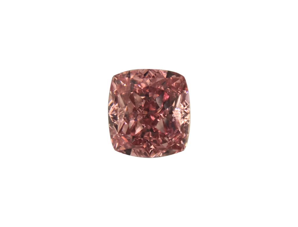 0.31ct粉紅彩鑽石