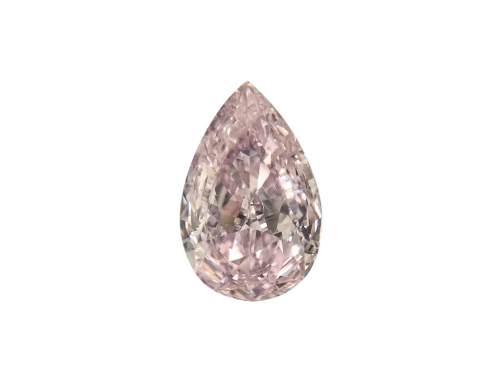 0.31ct紫粉紅鑽