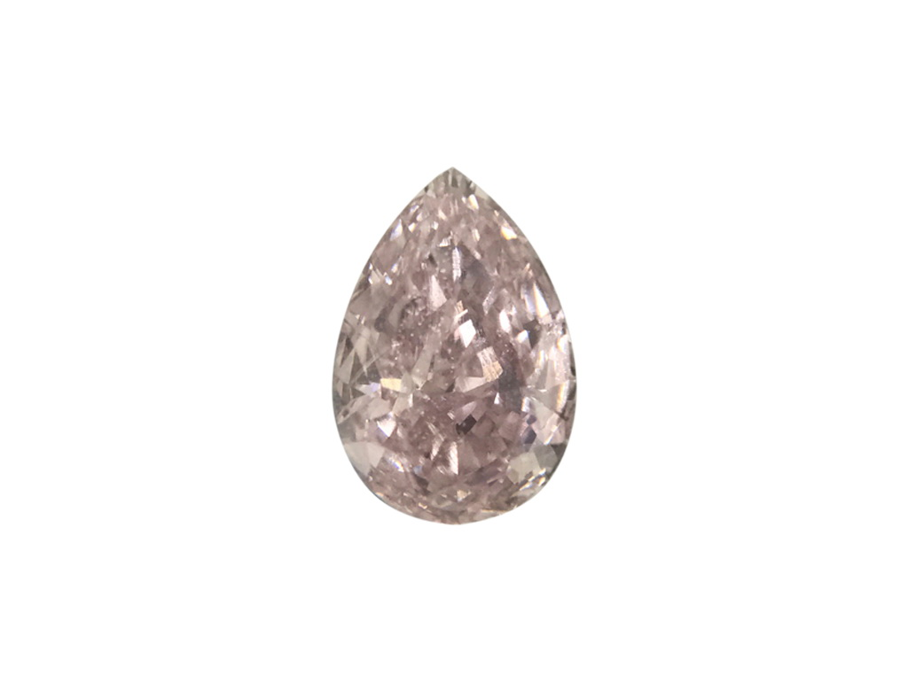 0.32ct粉紅彩鑽石