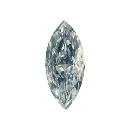 0.32ct藍色彩鑽石