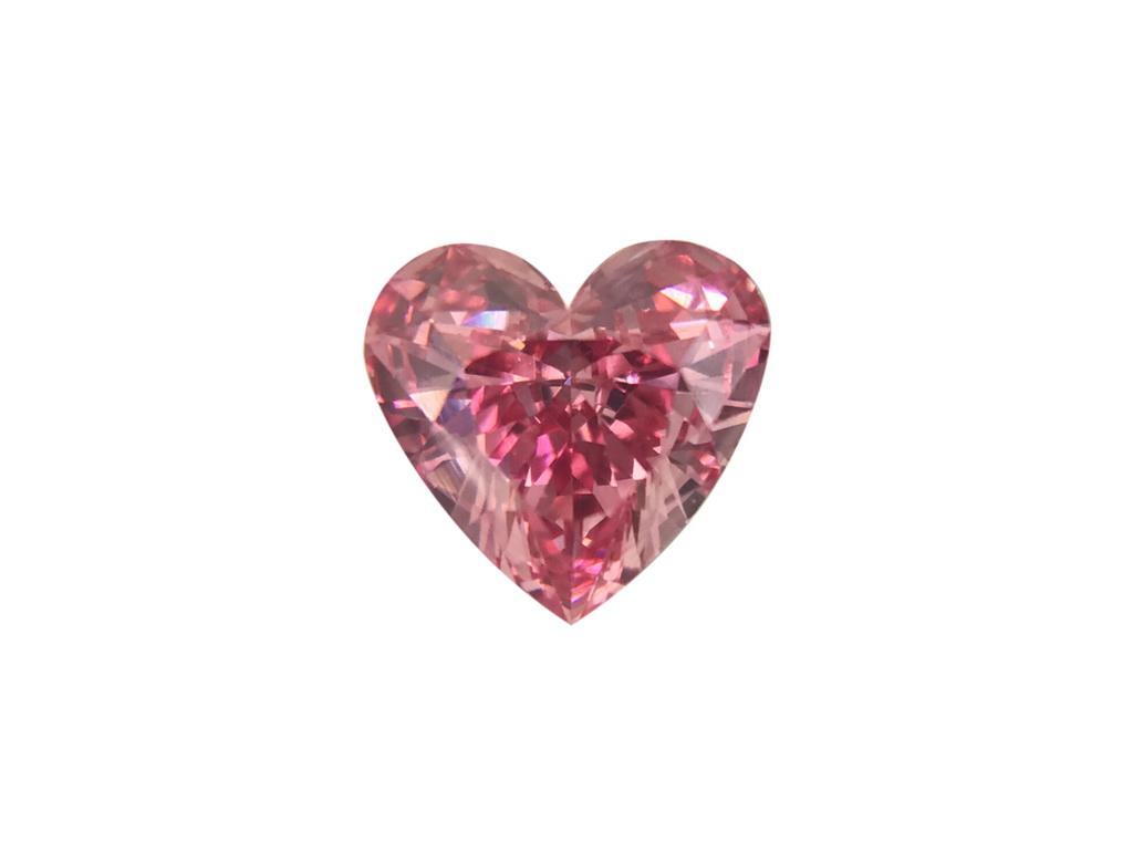 0.34ct粉紅彩鑽石