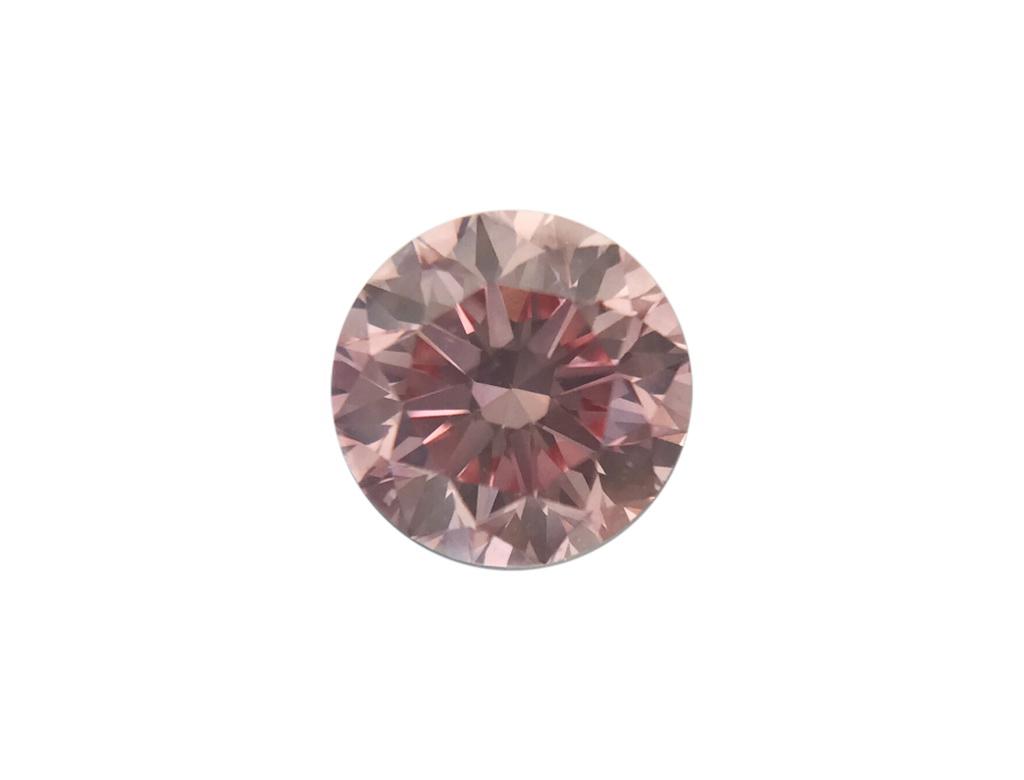 0.37ct粉紅彩鑽石