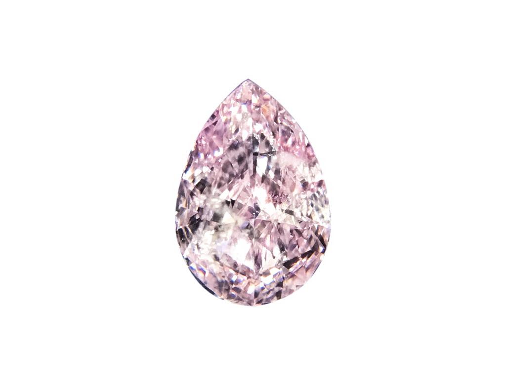 0.38ct粉紅彩鑽石