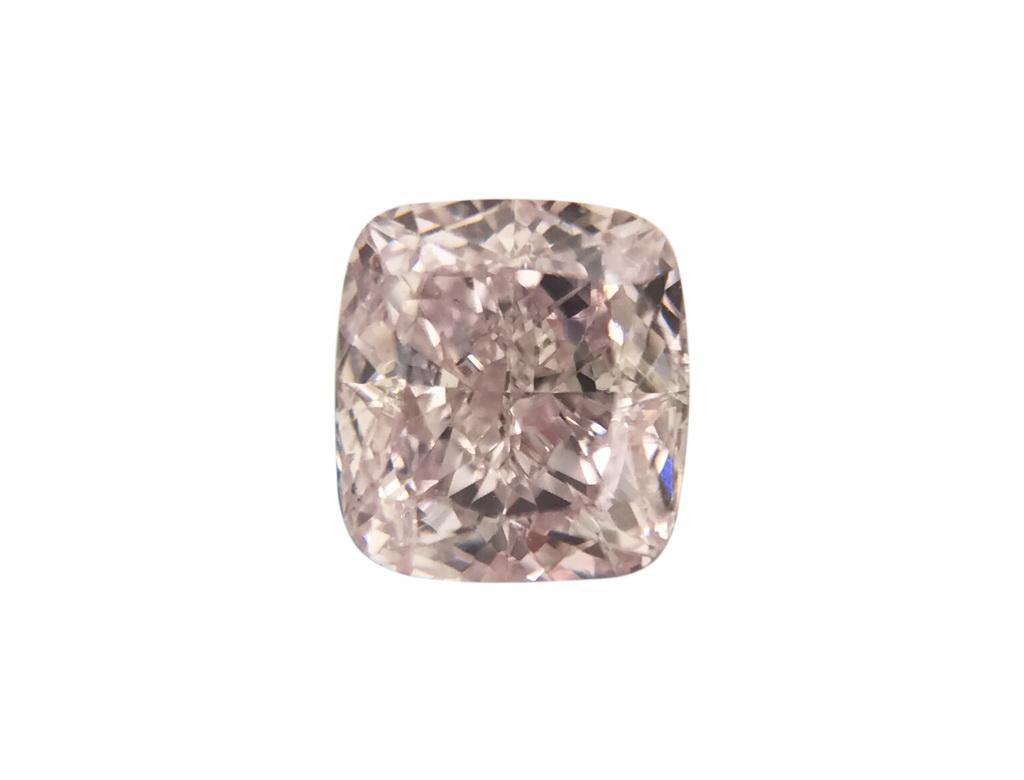 0.39ct紫粉紅彩鑽石