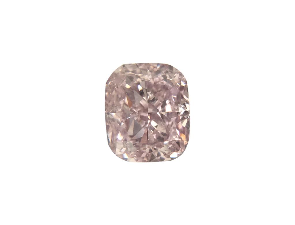 0.40ct紫粉紅彩鑽石
