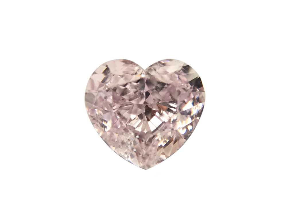 0.41ct紫粉紅彩鑽石
