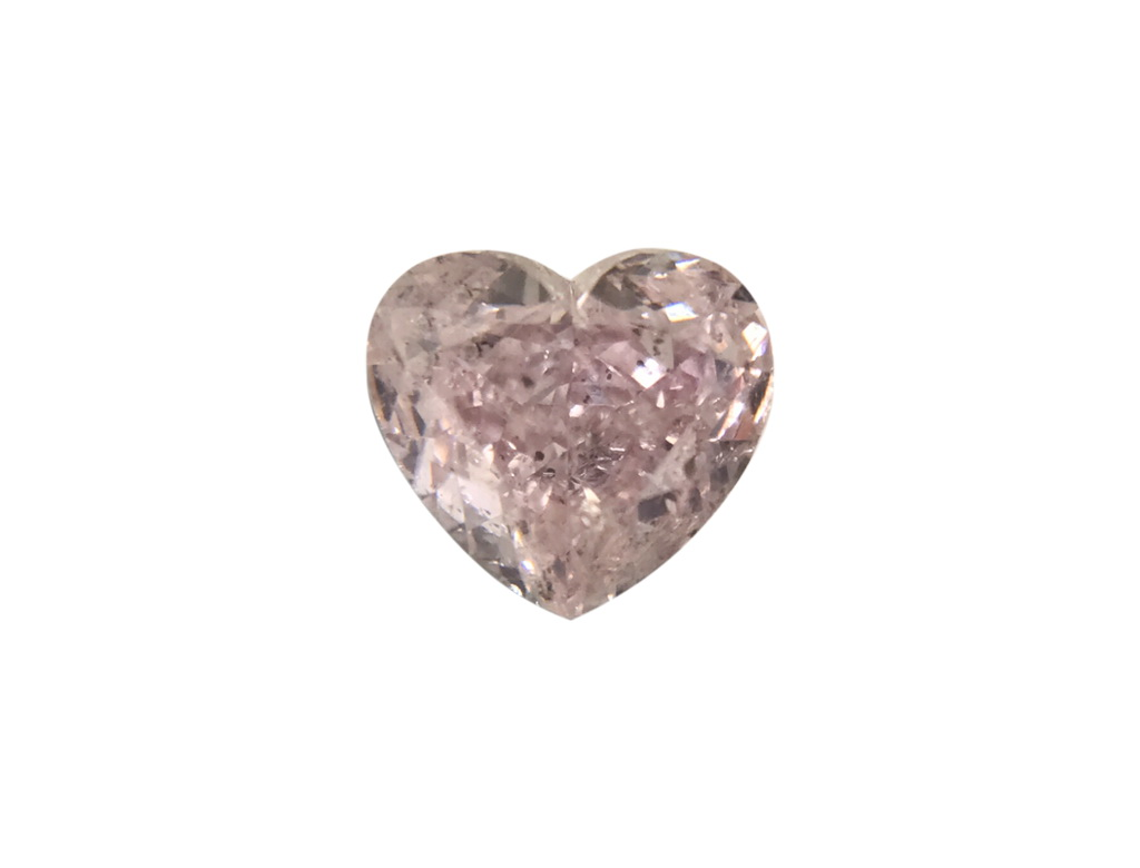 0.42ct粉紅彩鑽石