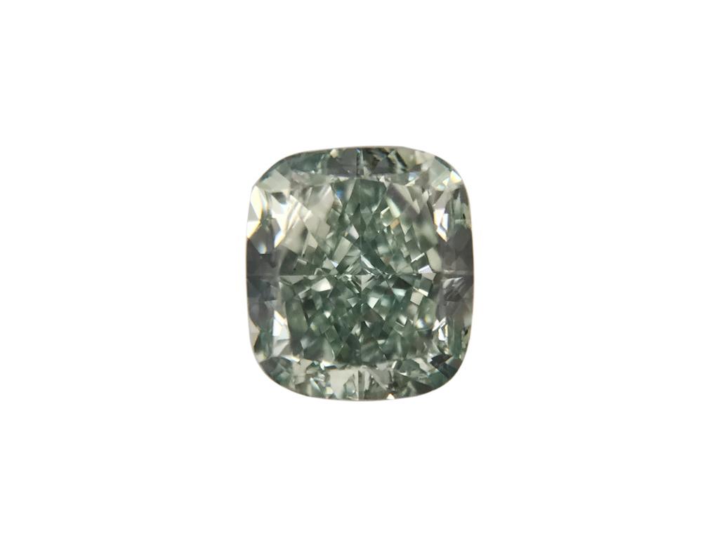0.43ct綠色彩鑽石