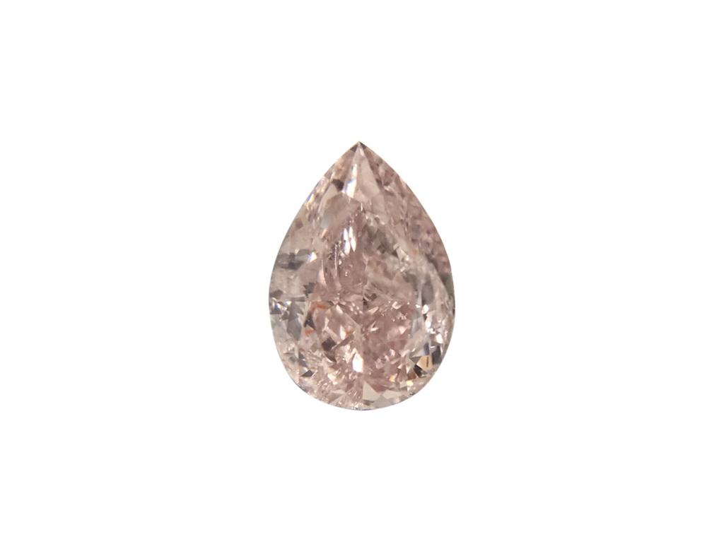 0.43ct粉紅彩鑽石