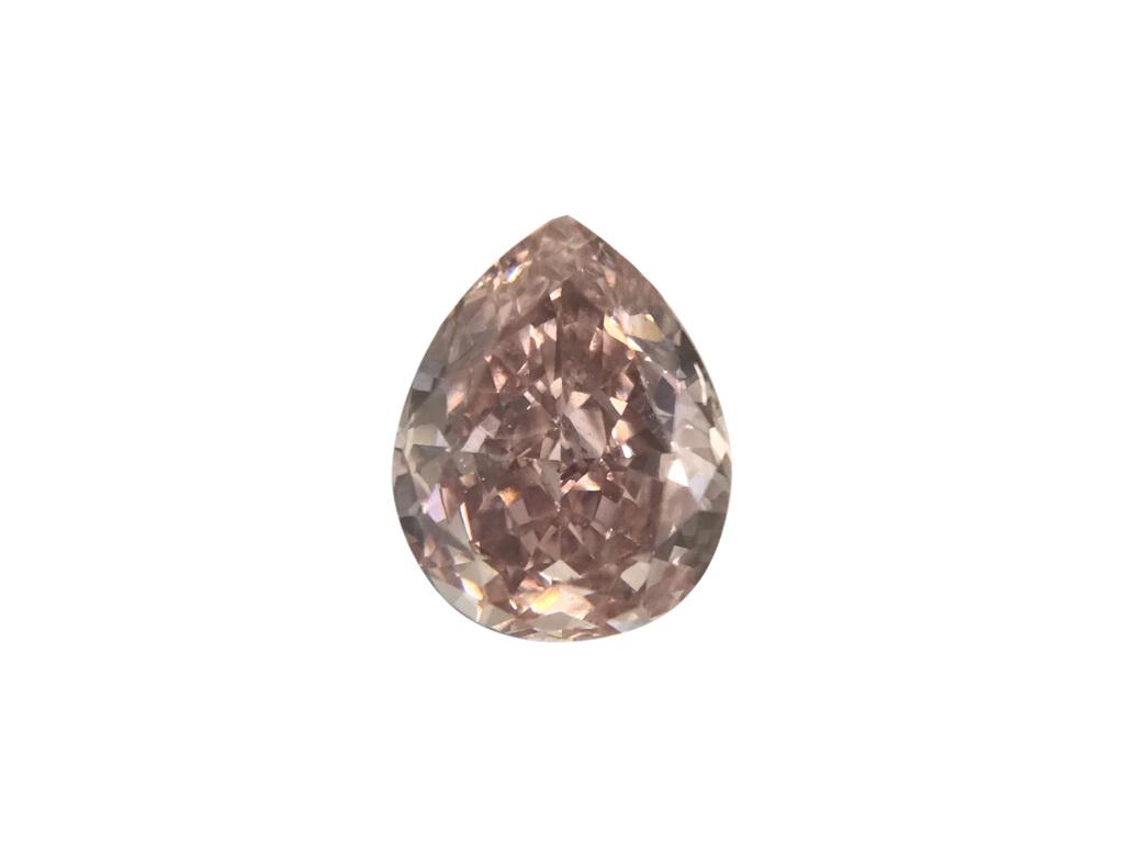 0.45ct粉紅彩鑽石