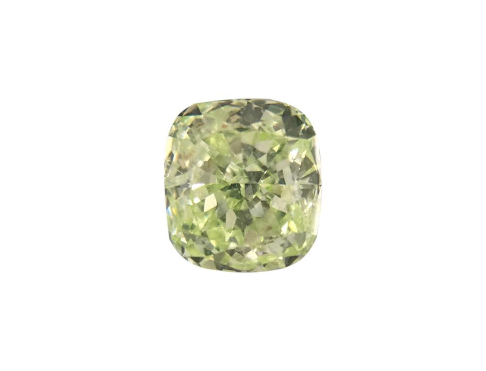 0.45ct綠色彩鑽石