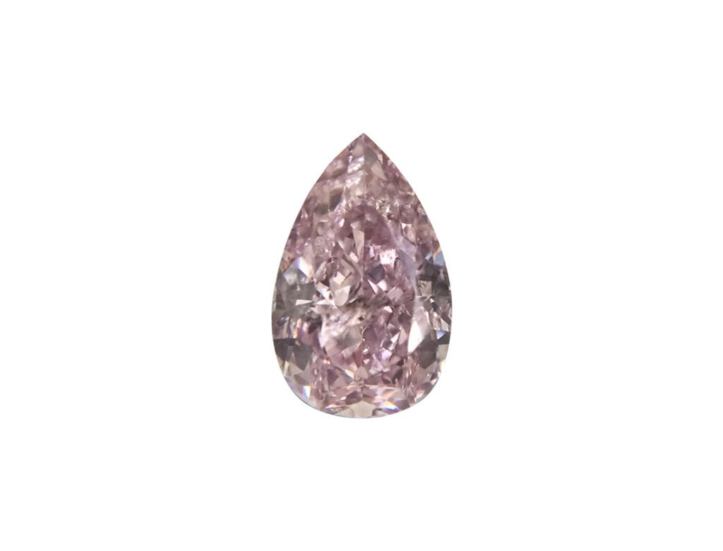 0.46ct粉紅彩鑽石