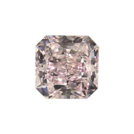 0.47ct粉紅紫彩鑽石