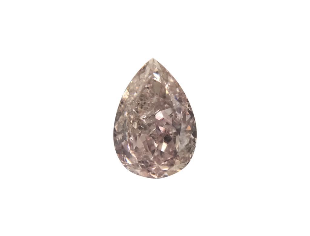 0.48ct紫粉紅彩鑽石