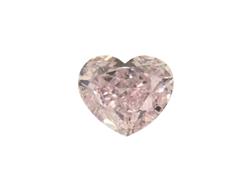 0.50ct紫粉紅彩鑽石