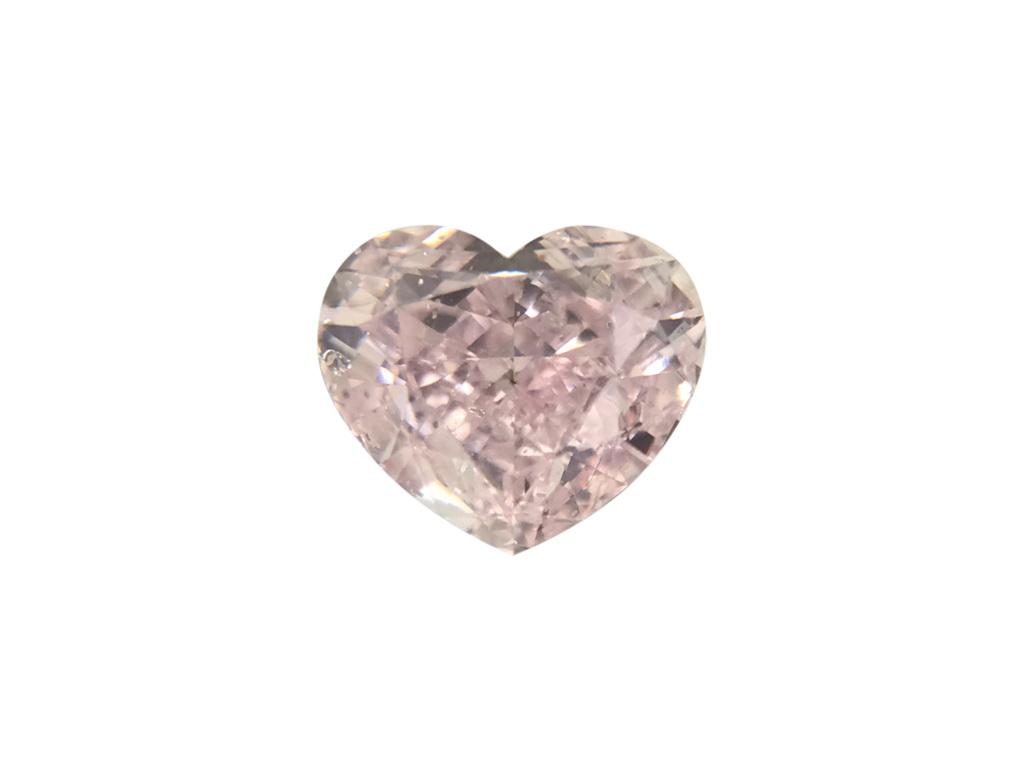 0.50ct紫粉紅色彩鑽石