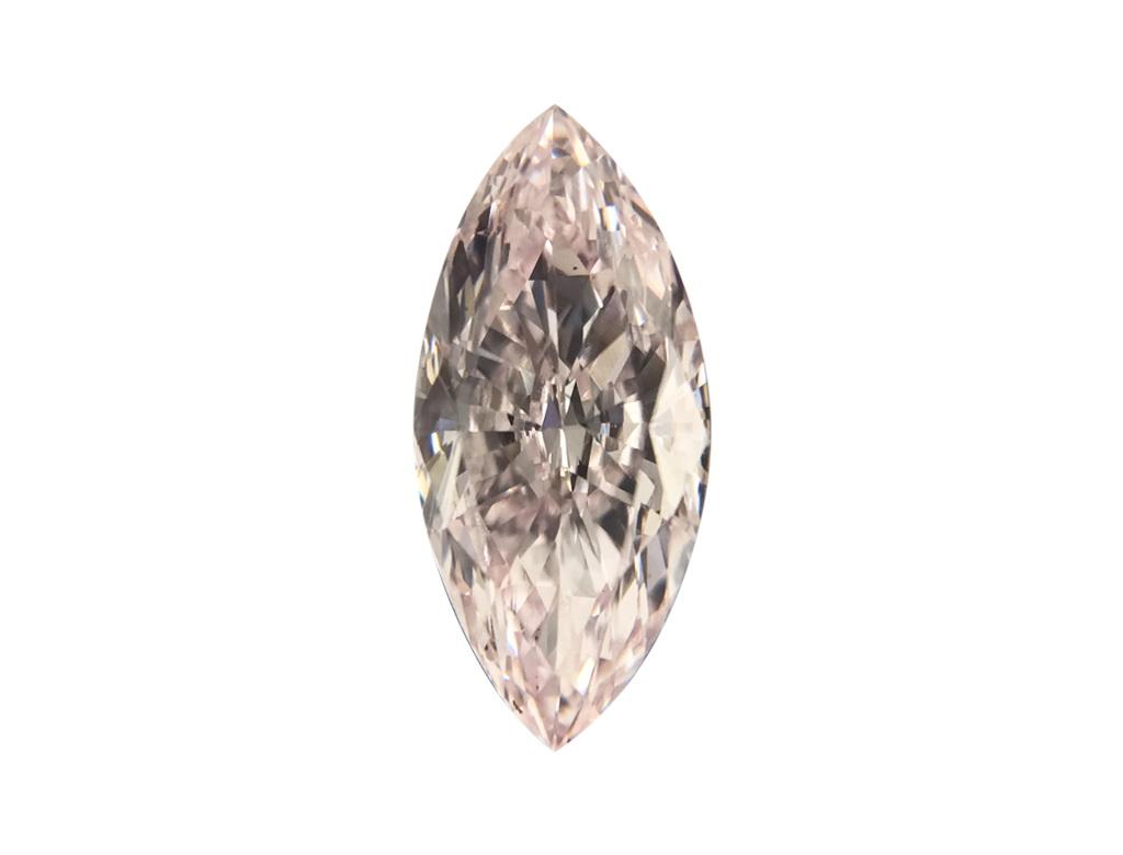 GIA 0.50ct 紫粉紅彩鑽石
