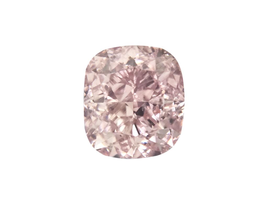 GIA 0.50ct 粉紅紫彩鑽石