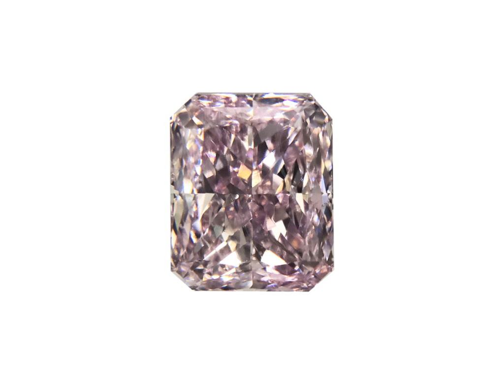 0.51ct粉紅彩鑽石