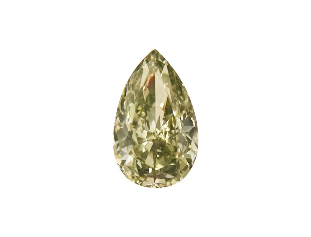 0.52ct綠色彩鑽石