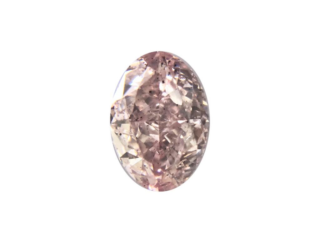 0.52ct粉紅彩鑽石
