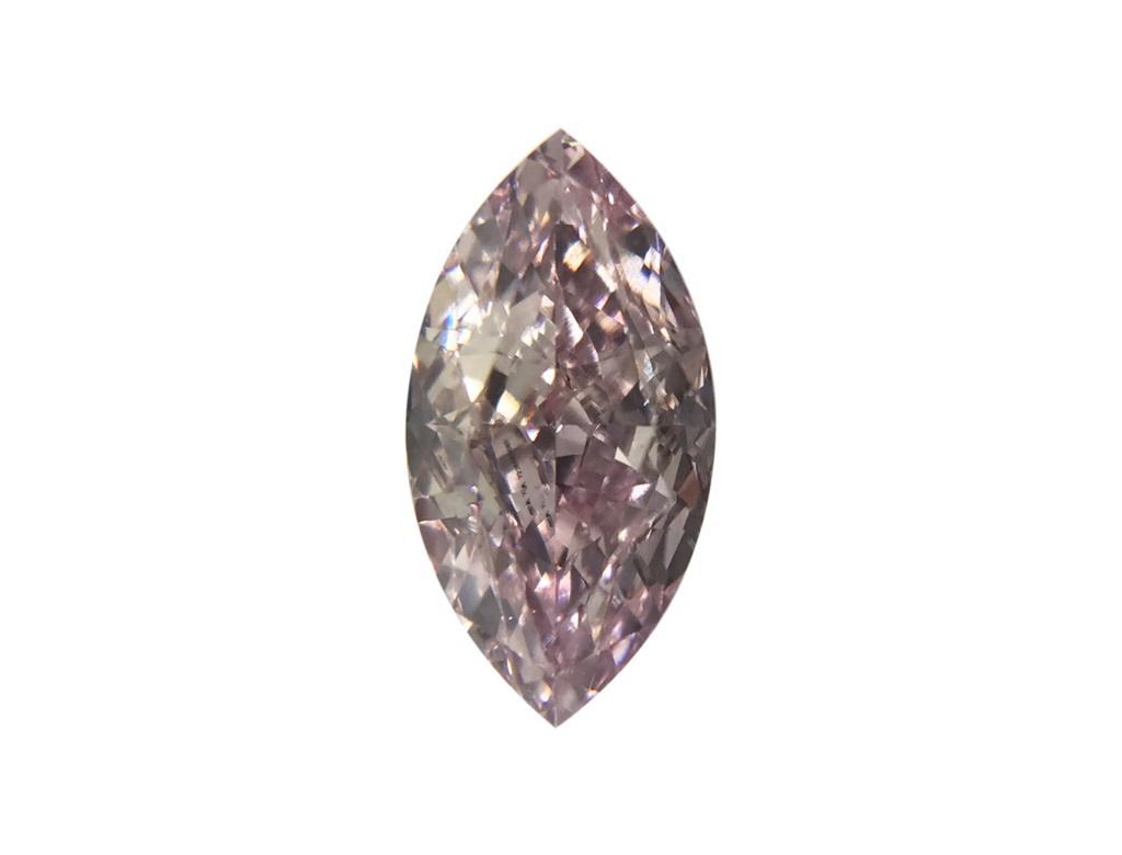 0.53ct粉紅彩鑽石