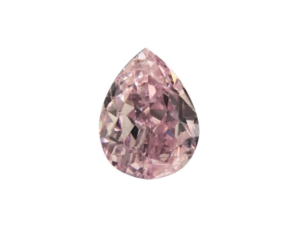 0.54ct粉紅彩鑽石