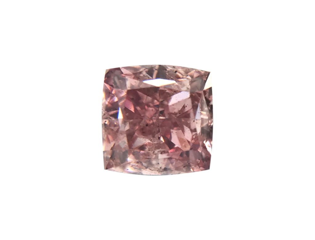GIA 0.57ct 紫粉紅彩鑽石